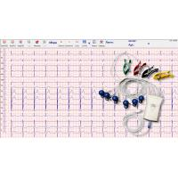 Wholesale Grey White Handheld Ecg Monitor 12 Lead 10 Wire With Usb Cable Connection from china suppliers