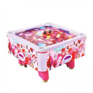 China Colorful Kids Air Hockey Machine Space Saving Air Hockey Table Oem Service on sale