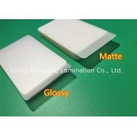 Wholesale Protective Matte Lamination Film Business Card Size Laminating Pouches 250 Micron from china suppliers
