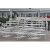 Buy cheap Easy Assembled Silver Portable Indoor Bleachers Aluminium Retractable Gym Bleachers from Wholesalers