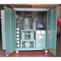 Wholesale Transformer oil Filtration and dehydration plant (oil purifier and oil treatment) from china suppliers