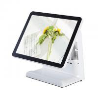 Wholesale White Color 15 Inch Point Of Sale Terminal Windows Linux / Win10 Supported from china suppliers