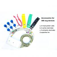 Quality iPad ECG Machine Bluetooth Connection with White Small Plastic Box CE FDA for sale