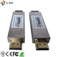 Wholesale Double LC Connector 4K HDMI Over Fiber Optic Extender Multi Mode Transmission from china suppliers
