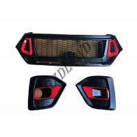 Wholesale GZDL4WD 4x4 Toyota Hilux Revo Rocco Front Grill Replacement 2018 TRD from china suppliers