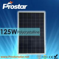 Wholesale Prostar polycrystalline solar panel 125W for solar generator from china suppliers