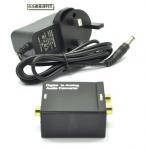 Wholesale Optical Toslink or Digital Coax to Standard Analog Audio Converter