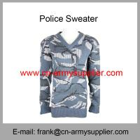 Wholesale Cheap China Military Navy Blue Camouflage Army Sweater