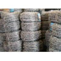 Buy cheap Four Barbs Galvanized Iron High Tensile Barbed Wire Fence For Highway from Wholesalers