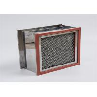 China Pharmaceutical Industrial Hepa Filter Heat Resistant Stainless Steel Frame on sale