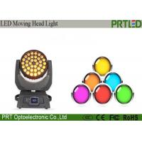 Wholesale Pro 36pcs Zoom Wash Moving Head Stage Lights Four In One 36x10 Watt RGBW from china suppliers