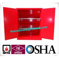 Wholesale Industrial Combustible Storage Cabinets For Paint / Chemical Liquid from china suppliers