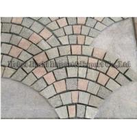 China Flamed/Honed/Tumbled/Natural Stone Grey Cubestone/Cobblestone/Cube Granite Stone for Driveway on sale