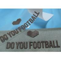 China Soft 3D Reflective Silver Heat Transfer Clothing Labels For T - Shirt on sale