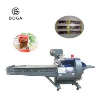 China Beef Jerky Food Packaging Line Bogal Food Flow Wrapping Multi Function on sale