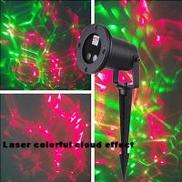 Wall Projection Christmas Lights : Outdoor Christmas Light Projector Moving Laser Garden Waterproof Wall Night Xmas Yard of ec91144319