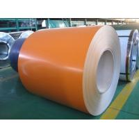 China Color Prepainted Galvanized Steel Coil Coated Steel Sheet 1250mm 0.2mm - 1.2mm on sale