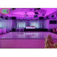 Wholesale Outdoor P6 IP65 LED Light Up Dance Floor 1/8 Scanning 1R1G1B For Concert Advertising from china suppliers