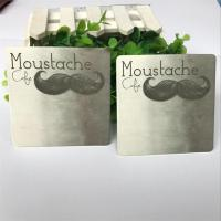 Wholesale 4c Printing Promotional Drink Coasters , Custom Printed Paper Coasters from china suppliers
