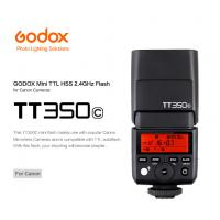 Wholesale Godox Mini Camera Flash TT350C for Mirrorless Camera Speedlite Flash Light for Canon from china suppliers