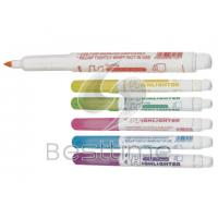 China Brightly colored custom imprinted Highlighter Pens / Highlighters Pen MT7027 on sale