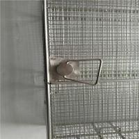 Wholesale Plain Weave Welded Sus304L Wire Mesh Basket With Lid from china suppliers