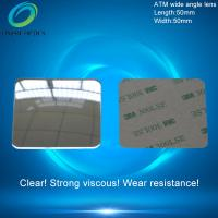 Wholesale Wide Angle Field Optical PMMA Plastic Reflecting Fresnel Lens for ATM Bank Window, Security other field Rearvie 50X50mm from china suppliers