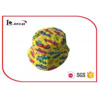 Buy cheap Car Pattern Printed Bucket Hat Reversible Yellow Sports Bucket Fisherman Hat from Wholesalers