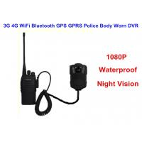 Wholesale Wearable IP68 Law Enforcement Body Camera For Security Officers , ABS Material from china suppliers