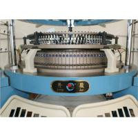 Buy cheap Four Tracks Single Jersey Circular Knitting Machine Weft Knitting High Accurate from wholesalers