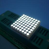 Wholesale Ultra White 1.9 Mm Dot Matrix Led Display 8 X 8 Stable Performance from china suppliers