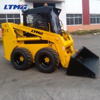 China 500kg Power Wheels Skid Steer Loader With Standard Bucket And Joystick Control on sale