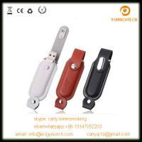 Wholesale new!high quality usb 1gb-64gb black leather usb flash drive from china suppliers