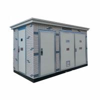 Wholesale 50 / 60Hz Frequency Electrical Substation Box European Type Transformer Substation from china suppliers