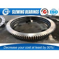 Buy cheap Stainless Steel Double Row Ball Structure Slewing Bearing For Mining / Heavy from wholesalers
