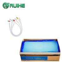 Quality Extrusion Medical Grade Silicone Rubber Non Toxic Forced Through Shaped Die for sale