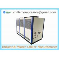 Wholesale -15C 30hp 10 tr 10 tons Glycol Water Solution Brewery Glycol Chiller from china suppliers