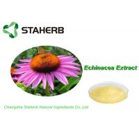 China 100% Natural Standard Reference Materials , Herb Medicine Echinacea Purpurea Extract Cichoric Acid 2% on sale