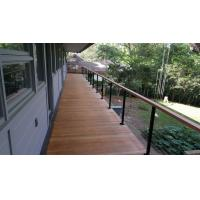 Wholesale Building stainless steel balcony wire / cable railing for staircase design from china suppliers