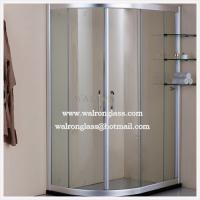 Wholesale 8mm/10mm/12mm Shower Door Glass from china suppliers