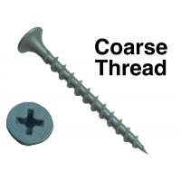 Wholesale Sharp Point Hardened Steel Bugle Head Drywall Screws With No 2 Phillips Recess Flat Head from china suppliers