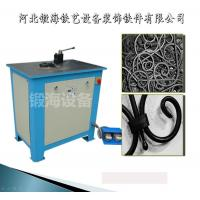 China DW16E  Wrought iron scroll bending machine Bule( flat steel,round bar,square bar ) on sale