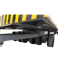 Wholesale High Quality Airport Luggage Trailer For Sale 3T Flatbed Trailer With Bracket from china suppliers