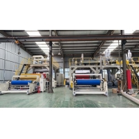 Wholesale For masks filtering cartridge 1600mm width PP meltblown non-woven fabric extrusion line from china suppliers