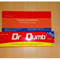 Buy cheap OEM 30g Dr Numb Lidocaine Anesthetic Cream For Tattoo Pailess Cream from wholesalers