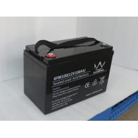 Wholesale Rechargeable 12v 100ah Deep Cycle Solar Lead Acid Battery Agm Vrla Battery from china suppliers