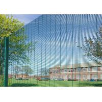 China PVC Coated 358 High Security Fencing Anti Climb 358  Fence For Airport Or Military on sale