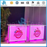 China Hot sale Fashion  portable/mobile foldable commercial bar counter/table for sale on sale