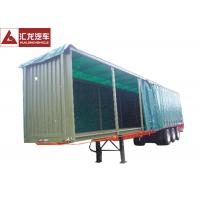 Wholesale Aluminum Rails Curtain Side Trailer  π Hook Shape Water - Proof Covering Material from china suppliers