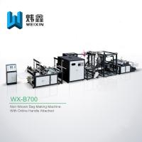 Wholesale High Class D Cut Bag Making Machine / High Output Box Bag Making Machine from china suppliers